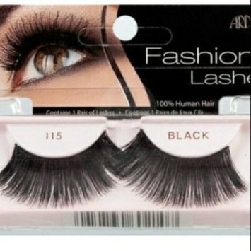 Photo of Ardell Fashion Lashes 115 Black uploaded by Patricia G.