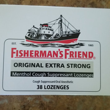 Photo of Fisherman's Friend Extra Strong Menthol Cough Suppressant Lozenges, Original uploaded by Alyssa K.