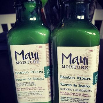 Photo of Maui Moisture Thicken & Restore Bamboo Fibers Shampoo uploaded by Danielle H.