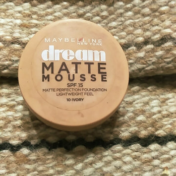 Photo of Maybelline Dream Matte® Mousse Foundation uploaded by Alyaa Z.