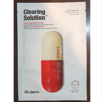 Dr. Jart+ Clearing Solution(TM) Ultra-Fine Microfiber Sheet Mask 1 Mask uploaded by Fazila K.