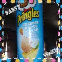 Pringles® Cheddar & Sour Cream Potato Crisps uploaded by Deborah Q.