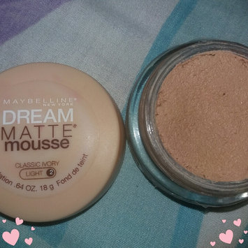 Photo of Maybelline Dream Matte® Mousse Foundation uploaded by Christie J.