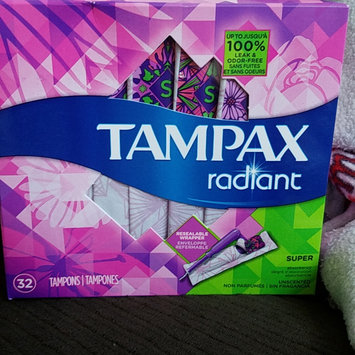 Photo of Tampax Radiant Regular uploaded by Shelly M.