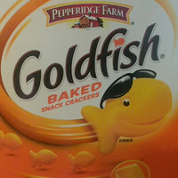 Goldfish® Cheddar Baked Cheddar Snack Crackers uploaded by Sara M.