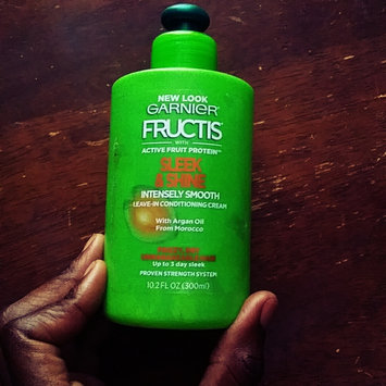 Photo of Garnier Fructis Sleek & Shine Intensely Smooth Leave-In Conditioning Cream uploaded by Princess C.