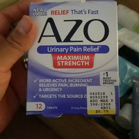 AZO Standard Maximum Strength Urinary Pain Relief uploaded by Emma G.