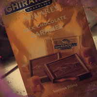 Ghirardelli Chocolate Milk Chocolate Caramel Square uploaded by KHADIJAH M.