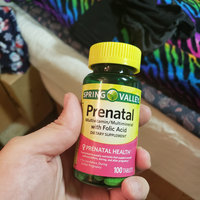 Spring Valley Prenatal Multivitamin/Multimineral Supplement uploaded by Anastasya V.