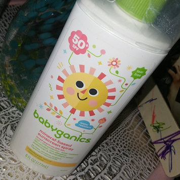 Photo of Babyganics Tear Free Mineral-Based Sunscreen Spray 50+ SPF uploaded by Amber P.