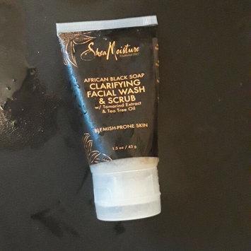 Photo of SheaMoisture African Black Soap Problem Skin Facial Wash & Scrub uploaded by Jennifer T.
