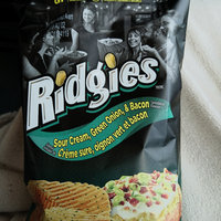 Wise Ridgies Sour Cream & Onion Flavored Ridged Potato Chips uploaded by K e.