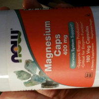 NOW Foods Magnesium, 400mg, Capsules, 180 ea uploaded by Jonathan M.