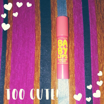 Photo of Maybelline Baby Lips® Moisturizing Lip Balm uploaded by Angela C.