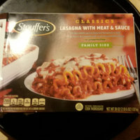 Stouffer's Lasagna With Meat & Sauce uploaded by Ashlie H.