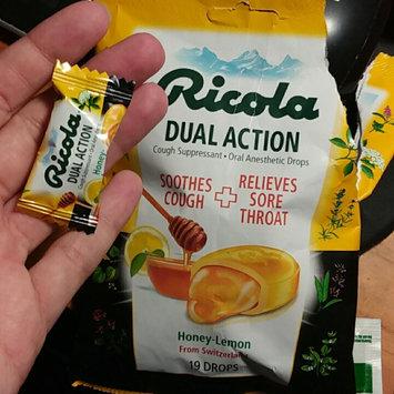 Photo of Ricola Dual Action Honey-Lemon Drops 19 ct Bag uploaded by Kody K.