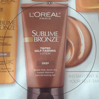 L'Oréal Paris Sublime Bronze™ Tinted Self-Tanning Lotion Medium Natural Tan uploaded by Layal L.