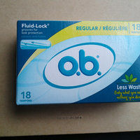 O.B. Multi-Pack Regular/Super/Super Plus Tampons - 40 CT uploaded by Introvert C.