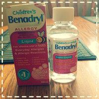 Pfizer Consumer Benadryl ChildrenS Allergy Relief, Dye Free Bubble Gum Flavored Liquid - 4 Oz uploaded by Erin P.
