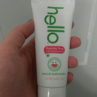 Hello Kids Fluoride Free Toothpaste Natural Watermelon uploaded by Sarah Y.