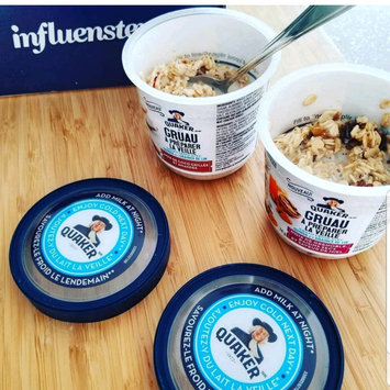 Photo of The Quaker Oats Company Quaker Overnight Oats Raisin Walnut & Honey Heaven, 2.61 OZ uploaded by Lucy D.