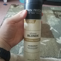John Frieda® Sheer Blonde Crystal Clear Shape & Shimmer Hairspray uploaded by Katrina H.