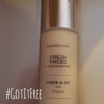 Photo of bareMinerals MADE-2-FIT Fresh Faced Liquid Foundation uploaded by Mileah L.