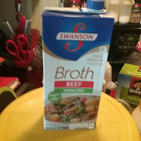 Campbell's Swanson® Unsalted Beef Flavored Broth uploaded by Amber M.