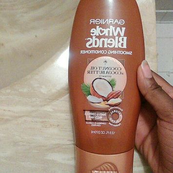 Photo of Garnier Whole Blends Coconut Oil & Cocoa Butter Extracts Smoothing Conditioner uploaded by Emoni F.