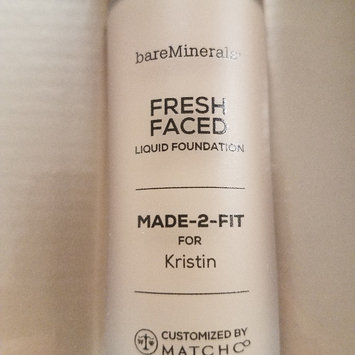 Photo of bareMinerals MADE-2-FIT Fresh Faced Liquid Foundation uploaded by Kristin B.
