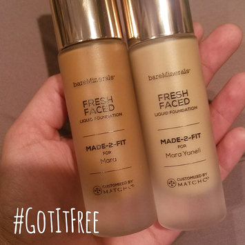 Photo of bareMinerals MADE-2-FIT Fresh Faced Liquid Foundation uploaded by Mara L.