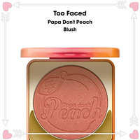 Too Faced Papa Don't Peach-Infused Blush uploaded by Shangeeta S.