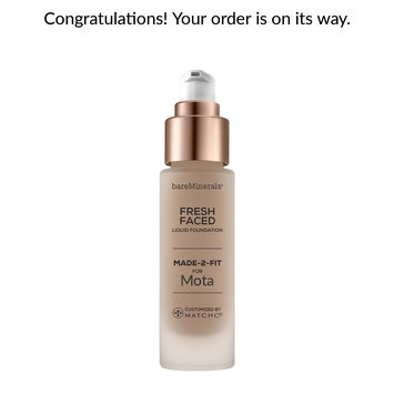 Photo of bareMinerals MADE-2-FIT Fresh Faced Liquid Foundation uploaded by Monica C.