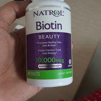 Natrol Biotin 10,000mcg Tablets - 100 CT uploaded by Shimmer S.
