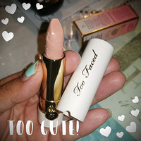 Too Faced Peach Kiss Moisture Matte Long Wear Lipstick Infused With Peach And Sweet Fig Cream uploaded by Maria N.