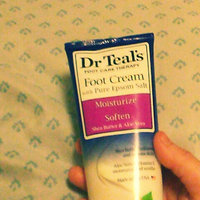 Dr.Teal's® Shea Enriched Foot Cream uploaded by Katie B.