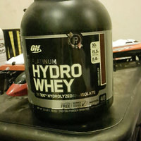 Optimum Nutrition Platinum Hydro Whey uploaded by MeMa K.