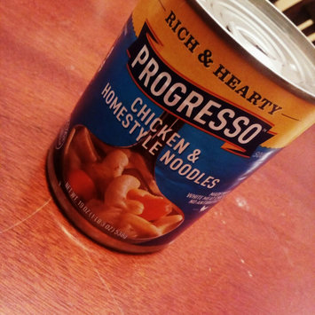 Photo of Progresso™ Rich & Hearty Chicken & Homestyle Noodles Soup uploaded by Lily F.