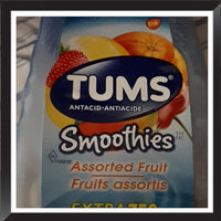 Tums Smoothies Extra Strength Assorted Fruit Antacid/Calcium Supplement, 60ct uploaded by Meagan H.