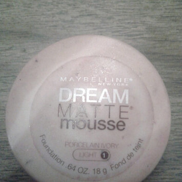 Photo of Maybelline Dream Matte® Mousse Foundation uploaded by devon n.