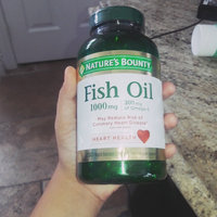 Nature's Bounty Fish Oil 1000 mg Dietary Supplement Rapid Release Liquid Softgel uploaded by carol s.