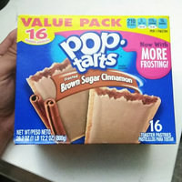 Pop-Tarts Frosted Brown Sugar Cinnamon Toaster Pastries uploaded by Jack R.
