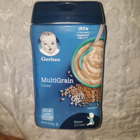 Gerber® Multigrain Baby Cereal uploaded by Starlyn E.