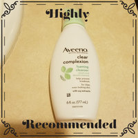 Aveeno® Clear Complexion Foaming Cleanser uploaded by Karina R.
