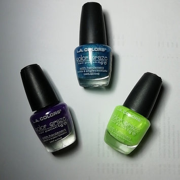 Photo of L.A. Colors Color Craze Nail Polish uploaded by Luz P.