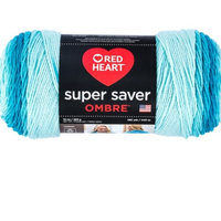 Red Heart Super Saver Ombre Yarn Deep Sea Coral uploaded by Monica G.