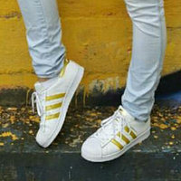adidas Women's Superstar Casual Sneakers from Finish Line uploaded by Catherine S.