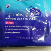 Clean & Clear® Night Relaxing™ All-in-one Cleansing Wipes uploaded by Miranda W.