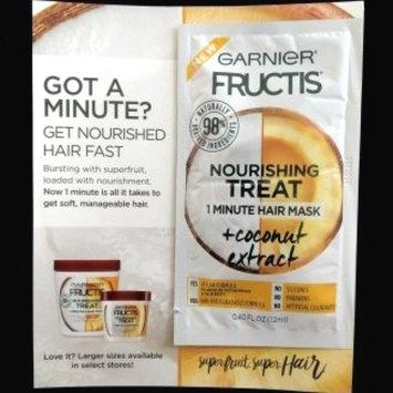 Photo of Garnier Fructis Nourishing Treat 1 Minute Hair Mask + Coconut Extract uploaded by Kimberly G.