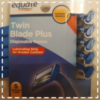 Equate™ Twin Blade Plus Disposable Razors 5 ct. Carded Pack uploaded by Jessica L.